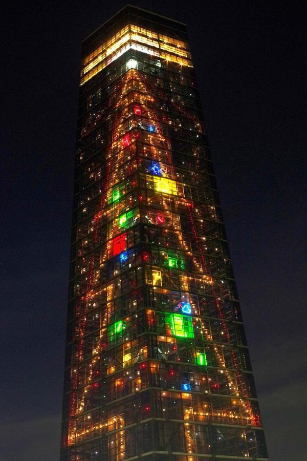 ▲タワークリスマスツリー(イメージ)