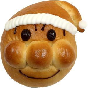 ▲1F ジャムおじさんのパン工場 サンタアンパンマン 390円