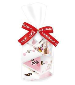 ▲ピスケ&うさぎ チョコボール<いちご>プチパック 540円(税込)