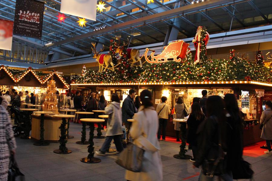 ▲クリスマスマーケット(昨年の様子)