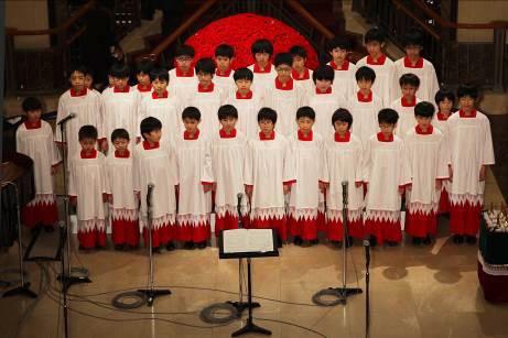 ▲TOKYO FM 少年合唱団