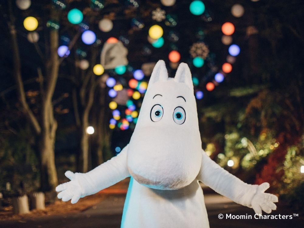 ▲大きな白い馬との出会い イメージ