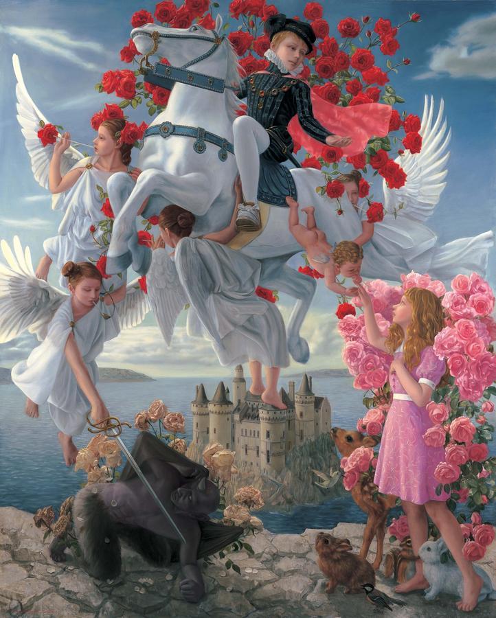 川井徳寛《共生関係~自動幸福~》2008 、鎌苅宏司氏蔵 (C) Tokuhiro Kawai, Courtesy of Gallery Gyokuei
