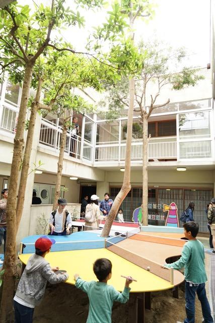 ▲ルミナスピンポン / Luminous Ping Pong 作家名:原倫太郎+原游 / Rintaro Hara + Yu Hara