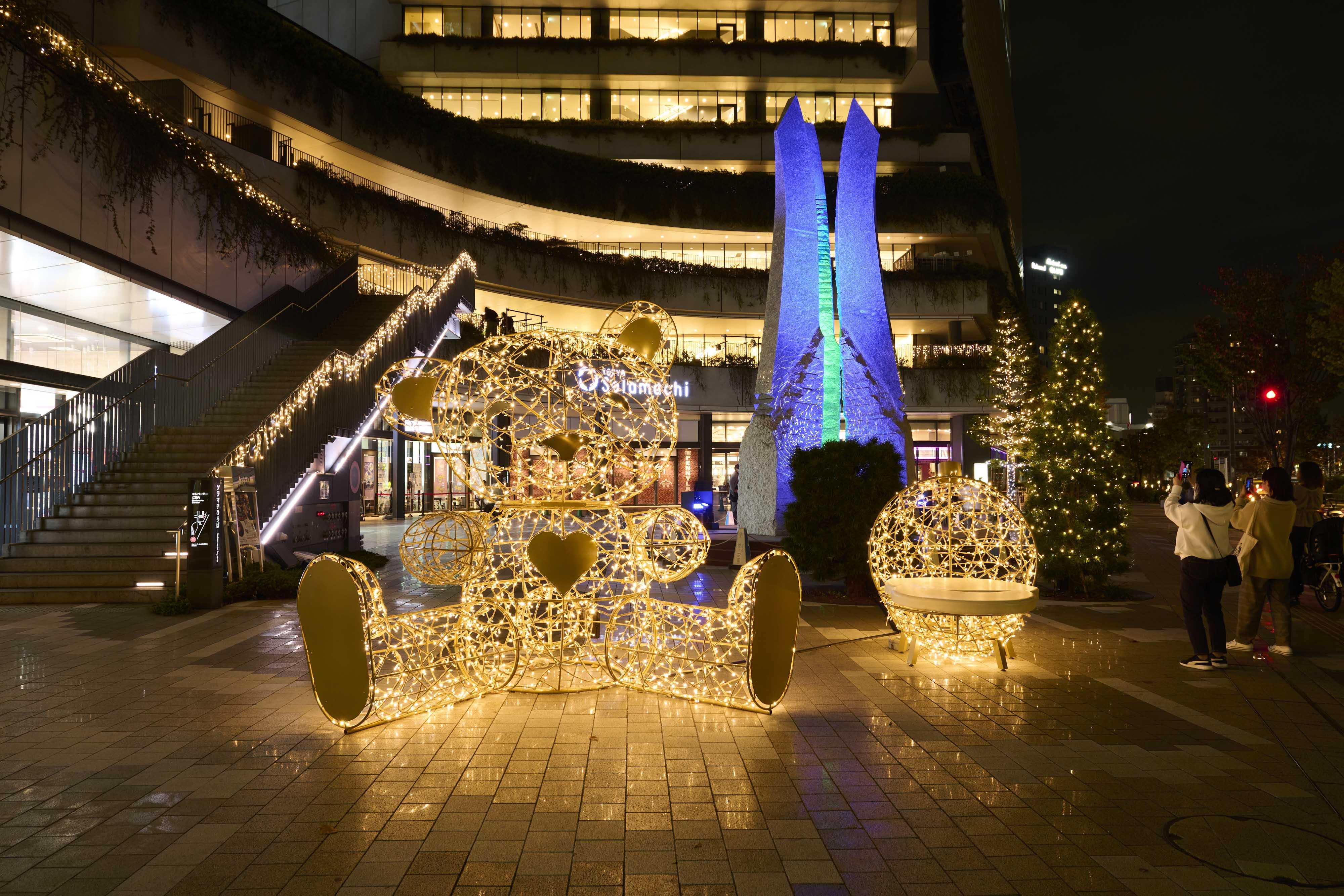 ▲東京スカイツリー クリスマス限定ライティング