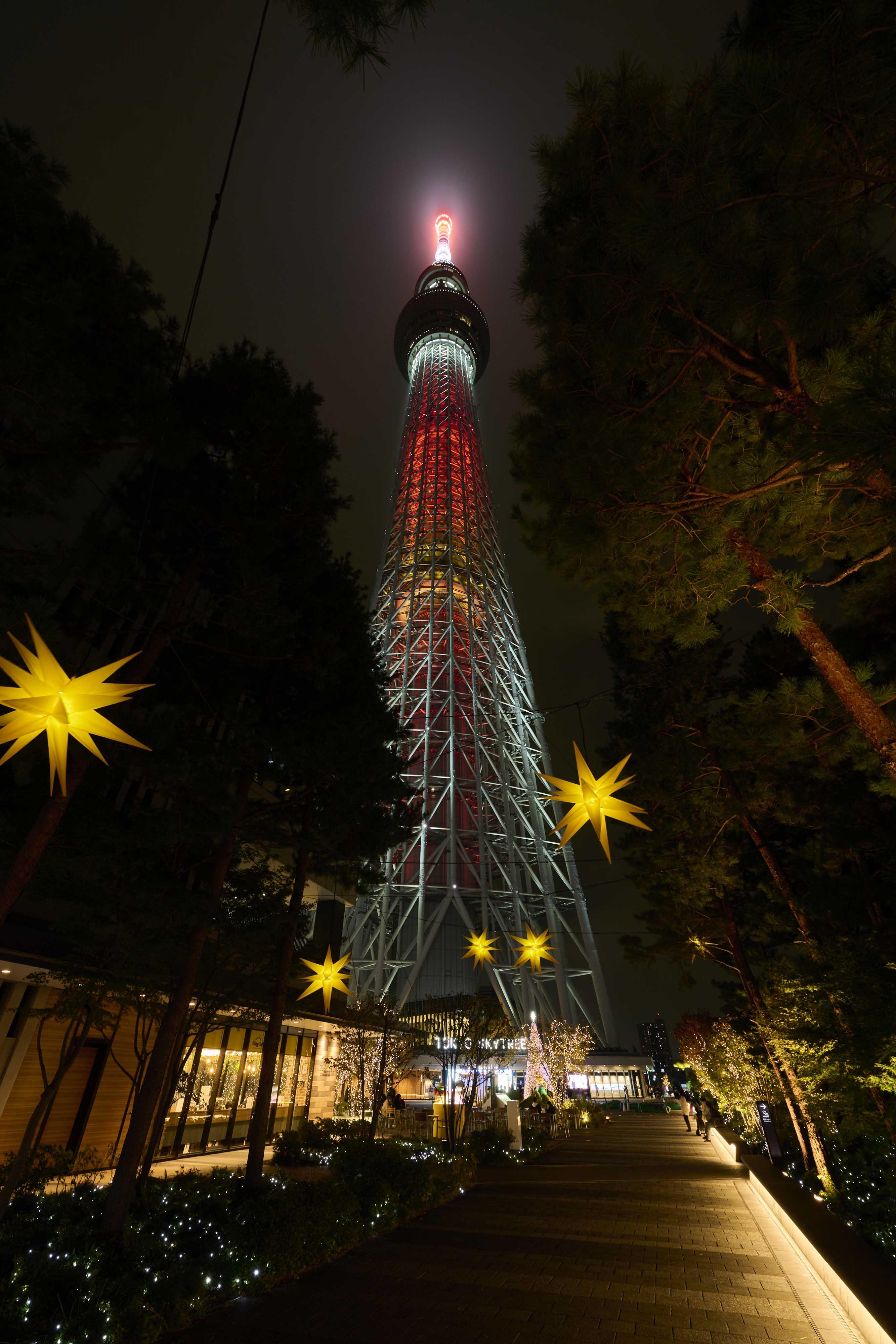 ▲クリスマス限定衣装のソラカラちゃん(イメージ)