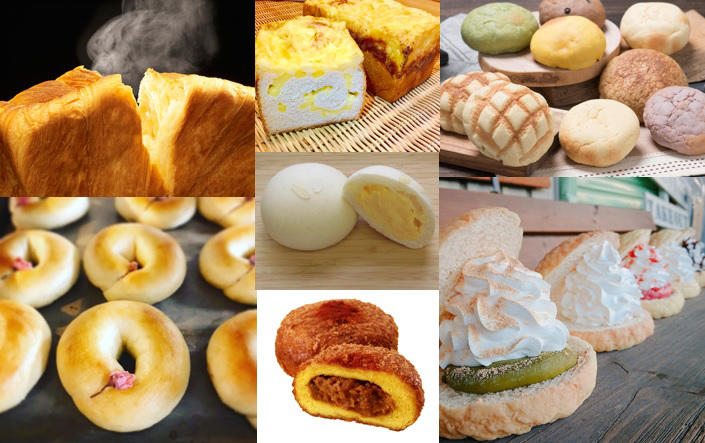 ▲会場には多種多様なパンが集結(イメージ)