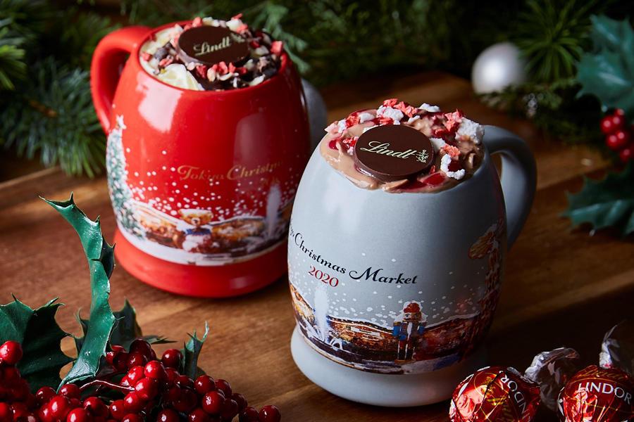 ▲カカオ本来の豊かな風味が濃厚に味わえる寒い冬にぴったりのドリンク「クリスマススペシャルホットチョコレート」