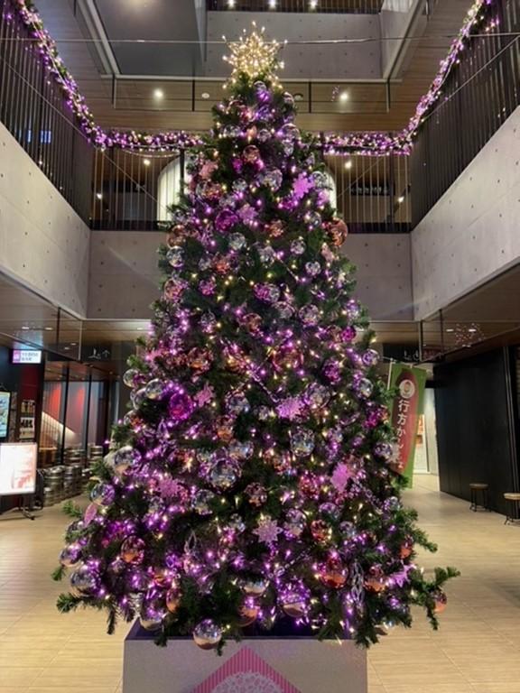 ▲クリスマスツリー