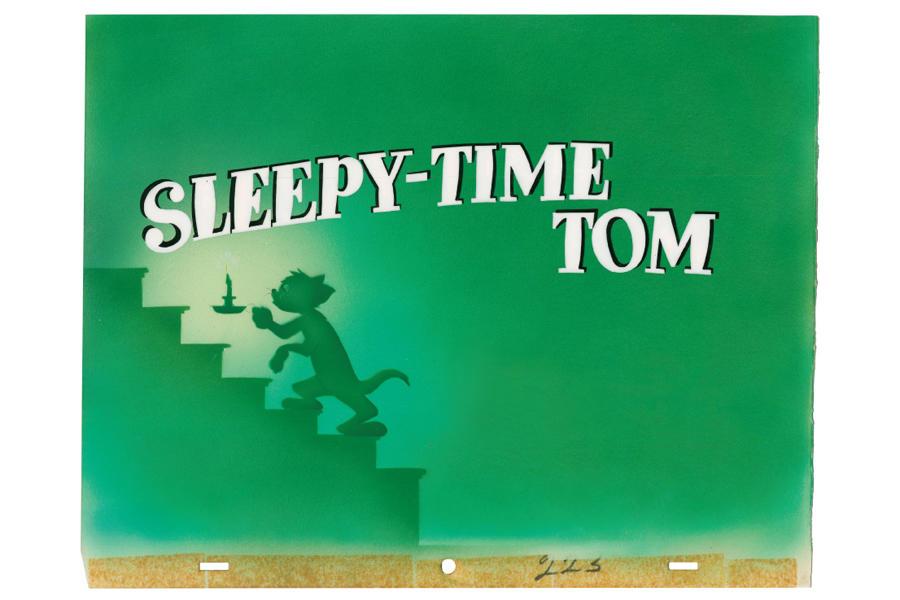 ▲「トムさんと悪友」セル・セットアップ