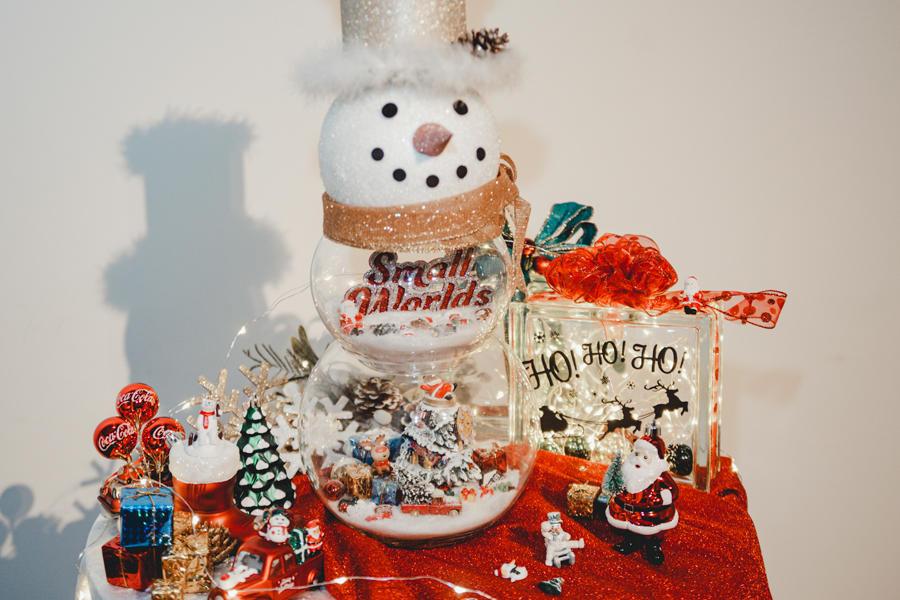 ▲スモールワールズTOKYO名物 クリスマス限定フォトスポット第1弾登場
