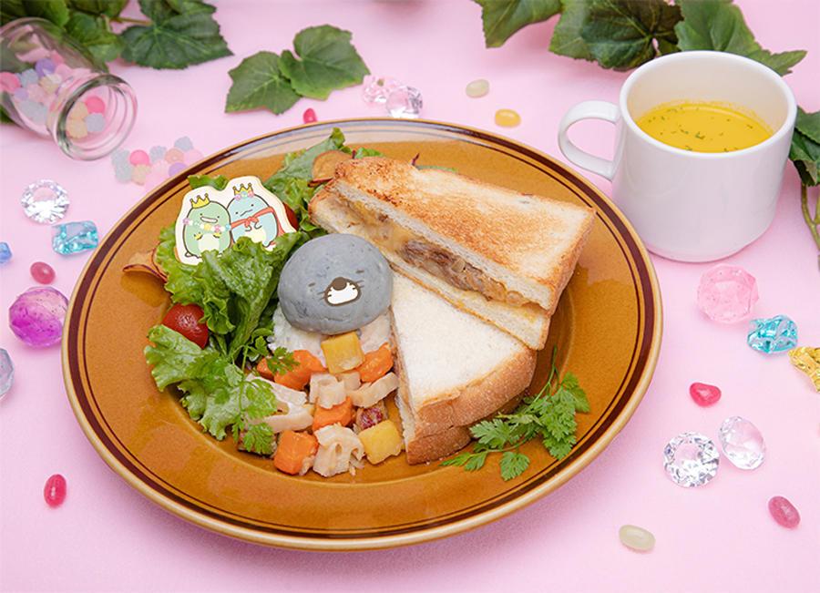 ▲にくじゃがサンドイッチ 1,299円(税抜)