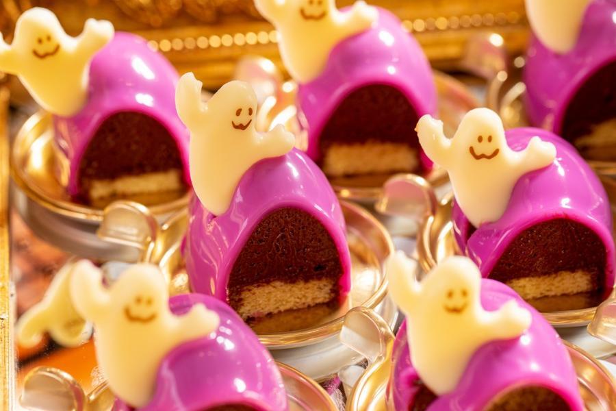 ▲ゴーストのチョコレートムース