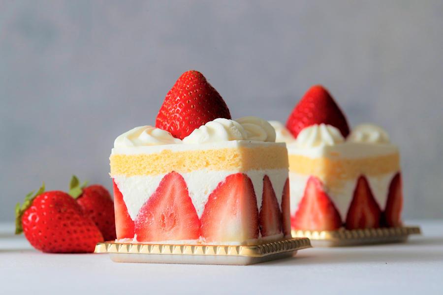 ▲あまおうのショートケーキ