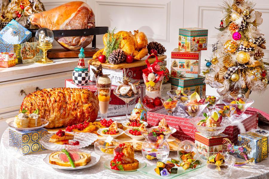 ▲クリスマス・ランチビュッフェ『サンタクロースの食卓』イメージ ※画像はイメージ