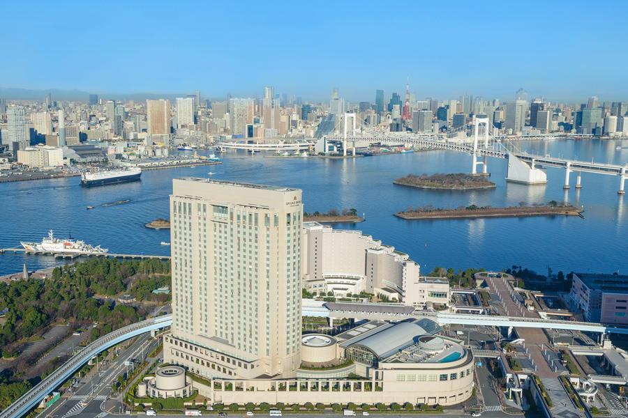 ▲グランドニッコー東京 台場 外観