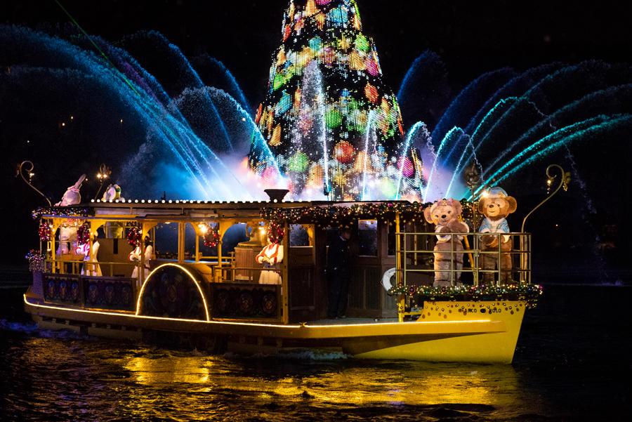 ▲東京ディズニーシー「カラー・オブ・クリスマス」