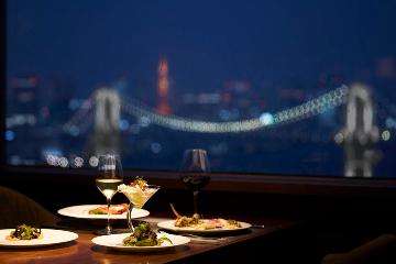 【お台場】イルミや夜景も見える!デート向けレストラン5選