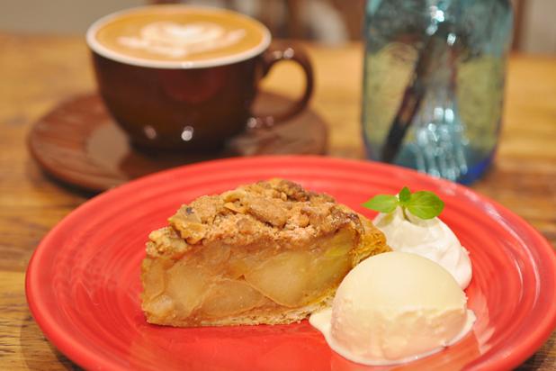 GRANNY SMITH APPLE PIE & COFFEE AOYAMA