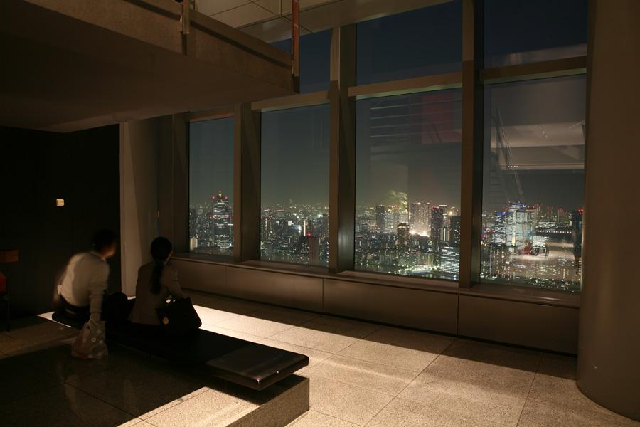 カレッタ汐留46階展望スペース