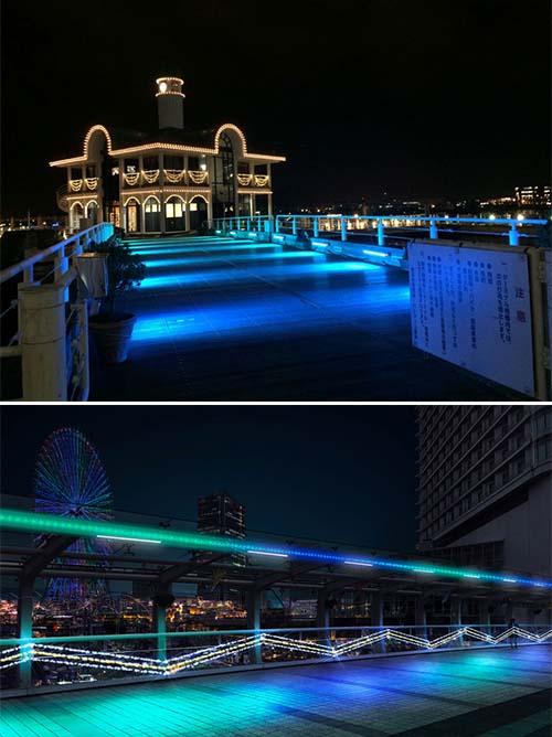 パシフィコ横浜 ウィンターイルミネーション