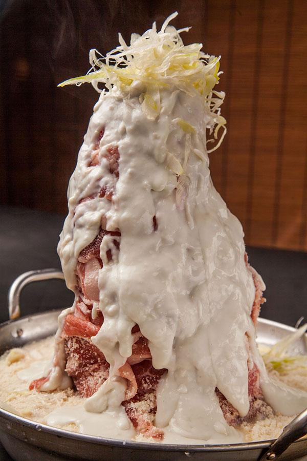 肉肉肉×29盛り豆乳チーズ鍋