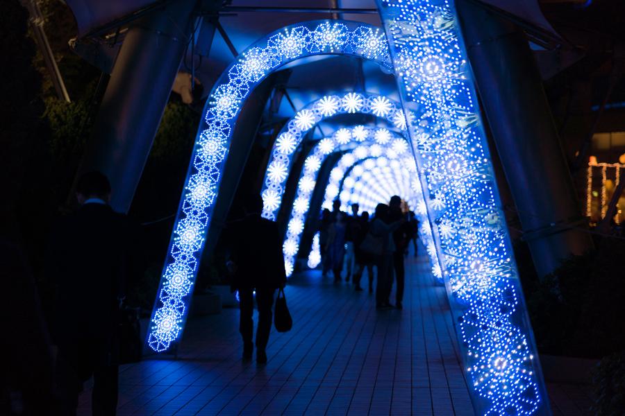 東京ドームシティ ウィンターイルミネーション「スマイルミ」