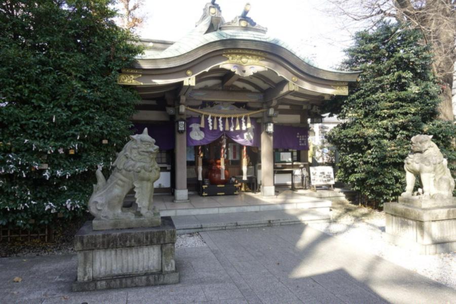 雑司が谷大鳥神社1