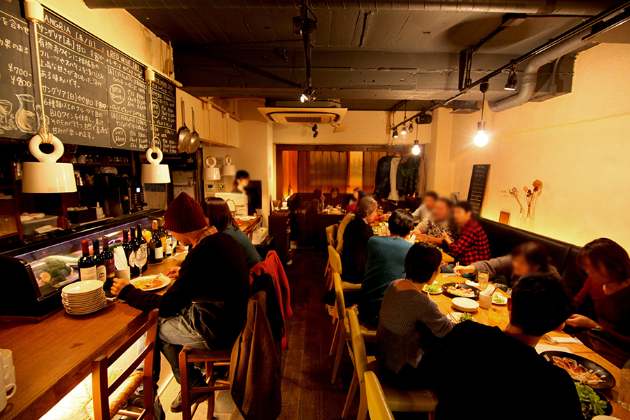 KOOP CAFE内観