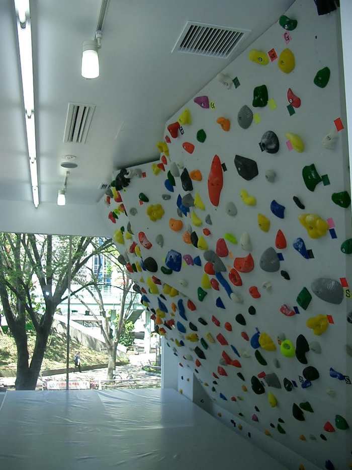 Bouldering studio PEKIPEKI