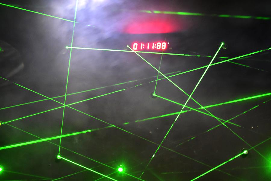 超密室レーザートラップ