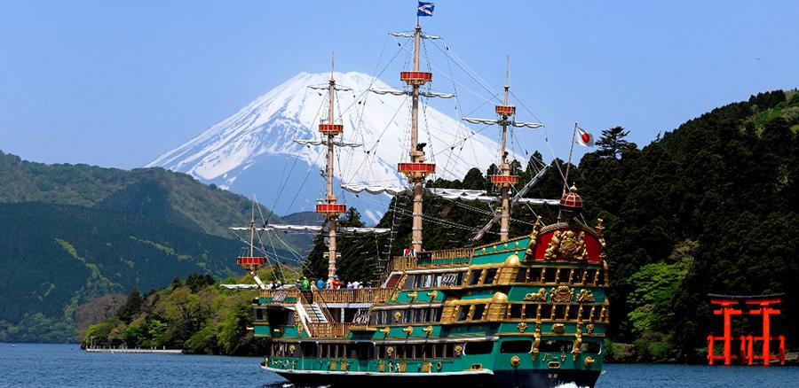 箱根海賊船 船先