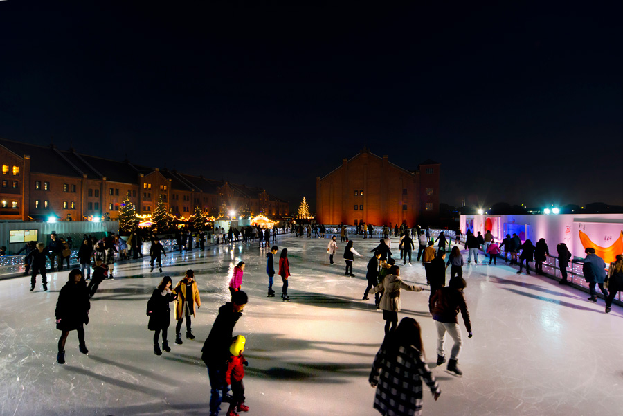 Art Rink in 横浜赤レンガ倉庫