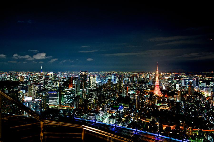 六本木ヒルズ展望台東京シティビュー屋上「スカイデッキ」