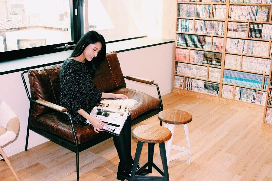 Hailey' 5 Cafe渋谷ベンチ