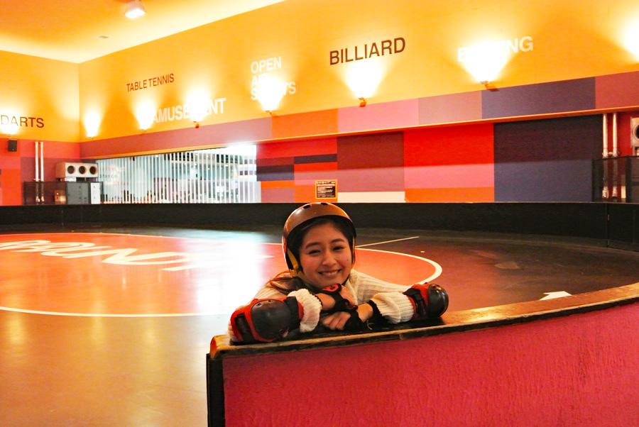 ラウンドワンスタジアム ダイバーシティ東京 プラザ店ローラースケート