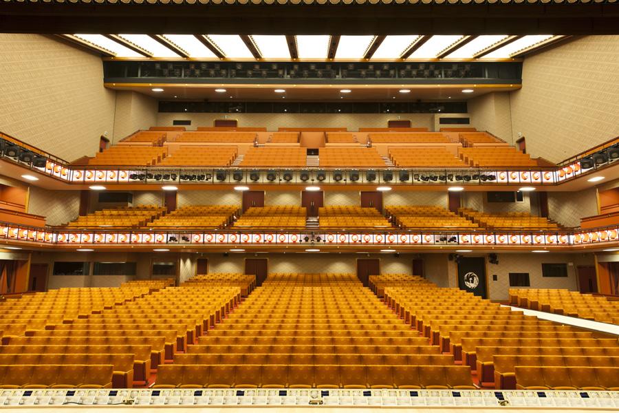 歌舞伎座内観