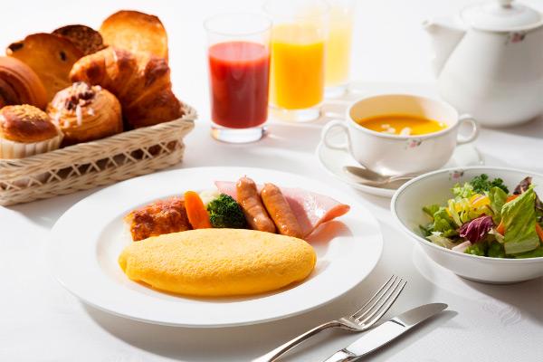 エグゼクティブフロア 朝食