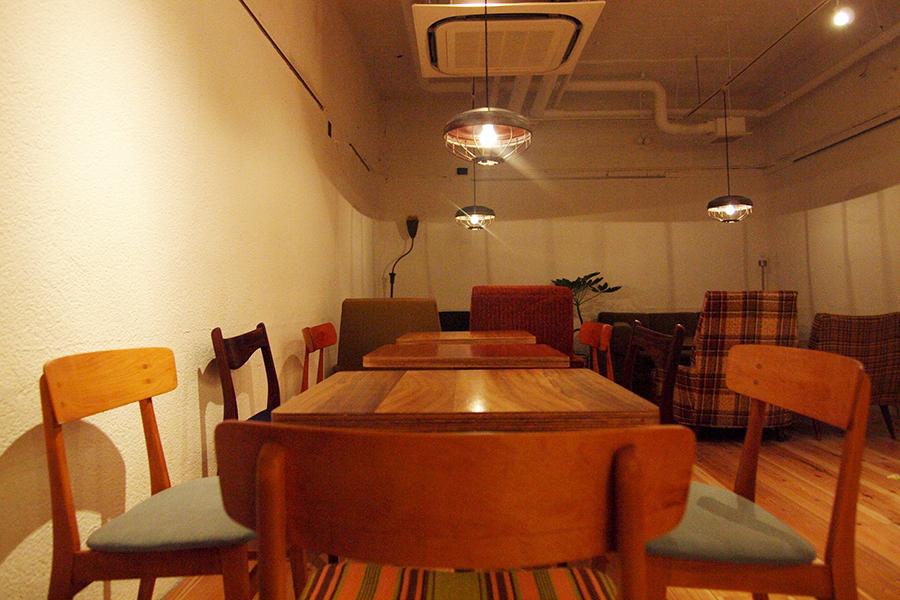 SCOPP CAFE 店内