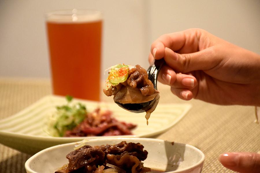 emishiこだわり出汁の肉豆腐アップ