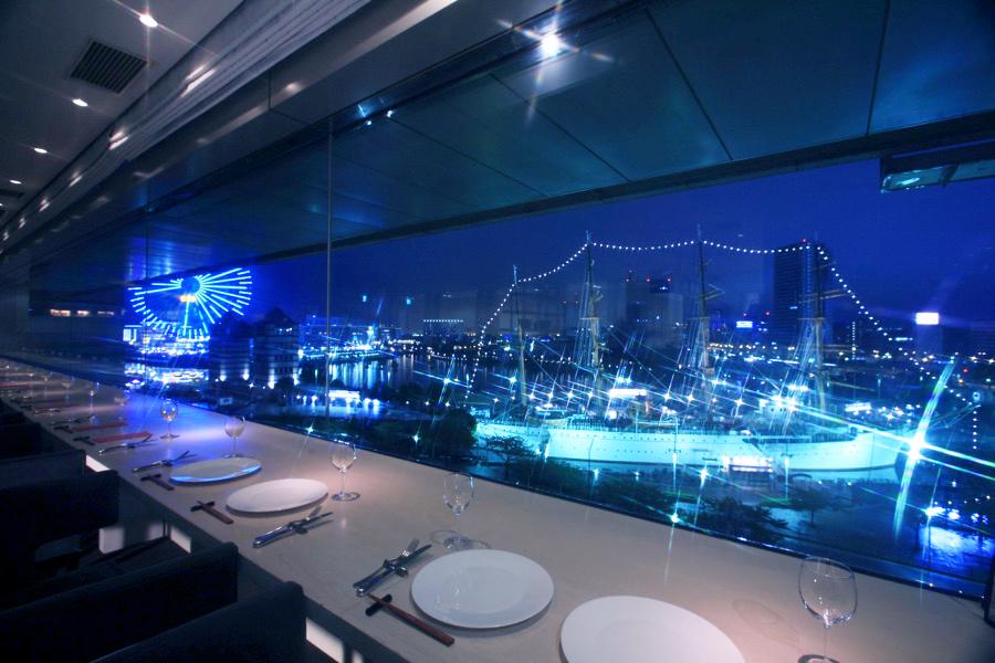 chef's V横浜ランドマークタワー店カウンター席