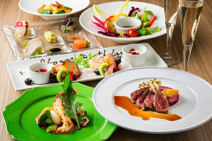 chef's V横浜ランドマークタワー店コースメニュー