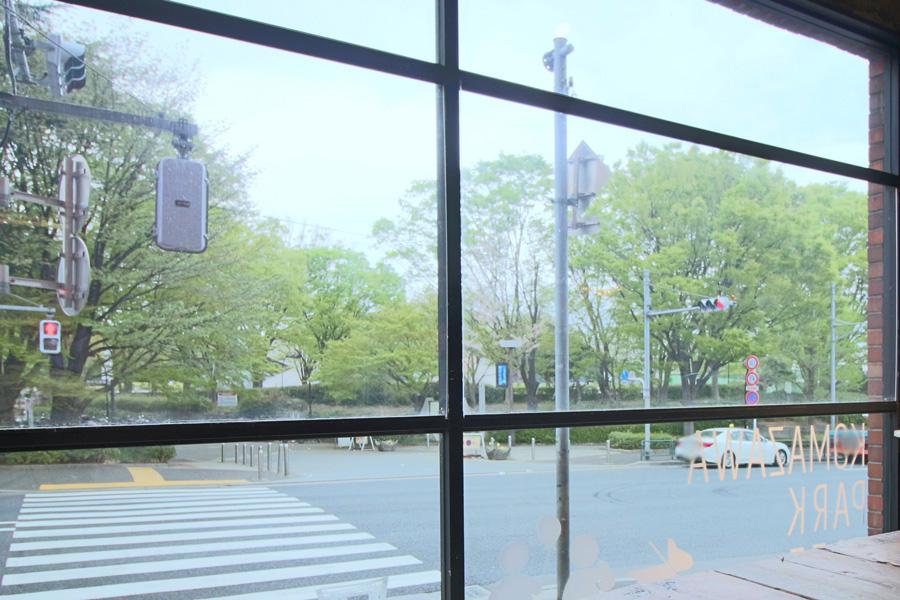 KOMAZAWA PARK CAFE景色