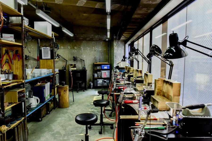 Makers' Base 作業スペース