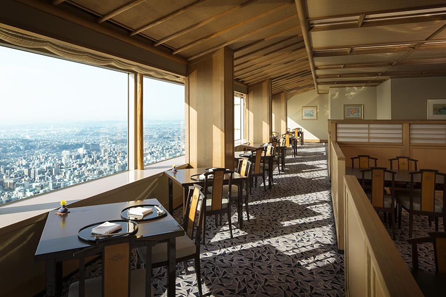 横浜ロイヤルパークホテル 四季亭内観
