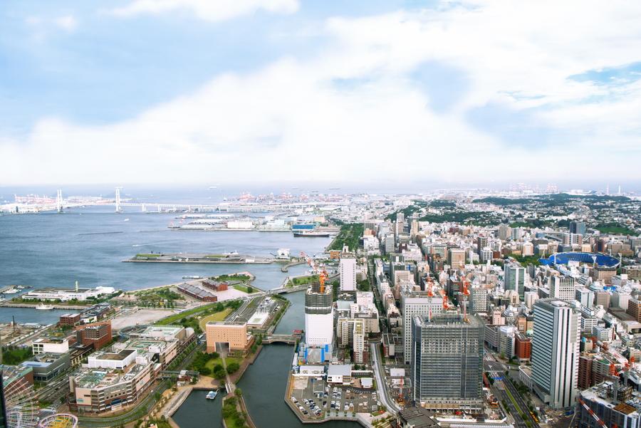 横浜ロイヤルパークホテル 四季亭 眺望