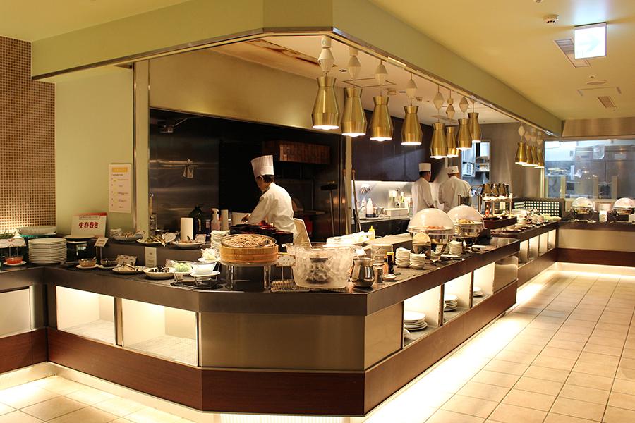 ホテルオークラレストラン横浜 サファイア オープンキッチン