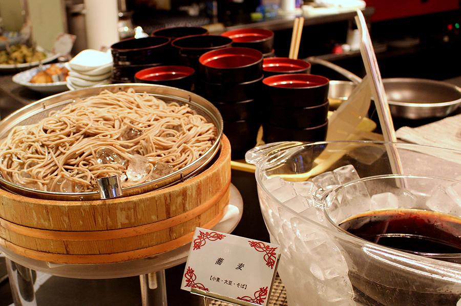 ホテルオークラレストラン横浜 サファイア お蕎麦コーナー