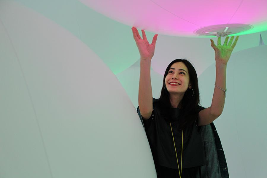 チームラボプラネッツ_意思を持ち変容する空間、広がる立体的存在 - 自由浮遊、3色と新しい9色_5