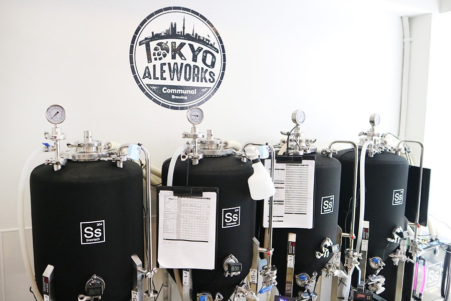 TOKYO ALEWORKS 醸造タンク
